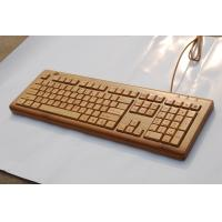Wholesale 108 keys wired bamboo keyboards from china suppliers