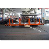 Quality Battery power rail flat car rail transport car 15ton load capacity 48V voltage DC for sale