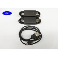 Wholesale 800mm Black Smartphone USB Cable Data Transfer / Charging USB Reversible Cable from china suppliers
