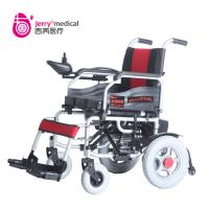Buy cheap Custom Intelligent Control Adjustable Motorised Wheel Chair Silver / Blue / Black from wholesalers