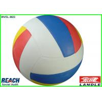 Wholesale Rubber Colored Size 5 Volleyball Ball , Standard Size And Weight from china suppliers