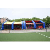 Wholesale 0.4mm PVC tarpaulin detachable Inflatable Paintball Bunker Arena from china suppliers