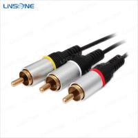Wholesale Linsone hight quality 2m 3RCA male cables from china suppliers