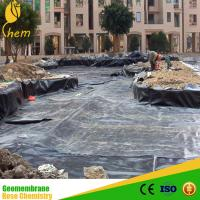 Wholesale Good Sale Cheap hdpe sewage Geomembrane for waterproof from china suppliers