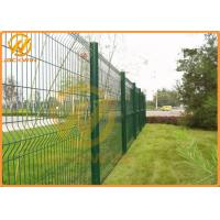 Wholesale 2m * 2.5m Green Color Invisible Powder Coated Garden Fence 5 Years Warranty from china suppliers