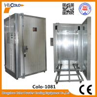 Wholesale 5kw 380V Electric Powder Coating Oven For Car Wheel / Pulverofen from china suppliers