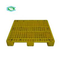 1200 x 1000 Warehouse Plastic Pallet Euro Standard Polyethylene Material Recycled
