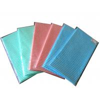 Wholesale Customized Lint Free Disposable Nonwoven Multi Purpose Kitchen Cleaning Wipes / Rags from china suppliers