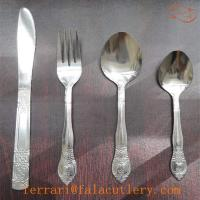 Wholesale Europe Poor Quality 48 Pieces 18 0 Stainless Steel Flatware Set from china suppliers
