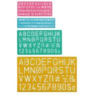 Wholesale Plastic Lettering Guide Set from china suppliers
