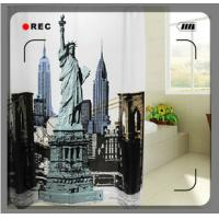 Wholesale Water repellent Polyester Cute Designed Window Shower Curtain For Bathroom from china suppliers