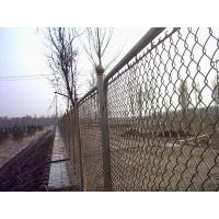 Buy cheap Low Carbon Steel Wire With PVC Coated Chain Link Fence Mesh 13 from wholesalers