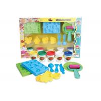 Educational DIY Modeling Play Dough Arts And Crafts Toys Set 5 Colors W / Tools Age 3