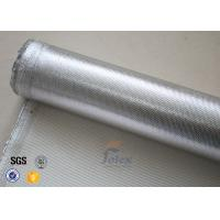 Wholesale 0.8mm Thermal Insulation Materials Break Twill Silver Coated Silica Cloth from china suppliers