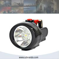 Wholesale KL2.5LM 4000lux led miners cap lamp safety and security in mining, mining safety helmet lamp from china suppliers