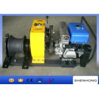 Wholesale 80KN YAMAHA Petrol Engine Belt Driven Cable Powered Pulling Winch from china suppliers