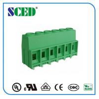 Quality 300V 57A PCB Terminal Block 10.16mm Screw Clamp Terminal Connection for sale