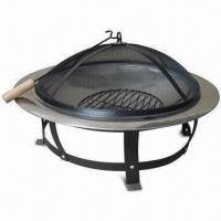 Quality Fire Pit, Measures 76 x 76 x 43cm, with Ø61cm Cooking Area for sale