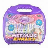 Buy cheap Girls' Fashionable Creative Bead Bracelet Set Toy, Made of PMMA Material from wholesalers