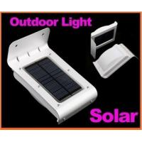 Wholesale 16 LED Solar Power Lamp Sound Sensor Outdoor Lighting Garden from china suppliers