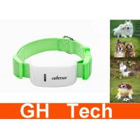 Wholesale Green Quad Band Dog GPS Tracking Collar GSM GPRS For Pets Tracking from china suppliers