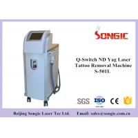 Quality Q Switch ND YAG Laser Tattoo Removal Machine with 1064nm / 532 nm for sale