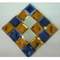 Wholesale mosaic decorative glass mirror glass puzzle from china suppliers