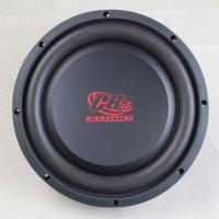Quality Shallow Mount 10 Inch Car Subwoofer , 2 Ohm Car Audio Speakers 10mm Top Plate for sale