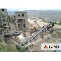 Wholesale Basalt Complete Rock Jaw Crusher Plant for Limestone / Marble / Granite from china suppliers
