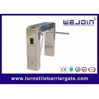 Wholesale Automated Pedestrian Turnstile Barrier Gate for Access Authority Management from china suppliers