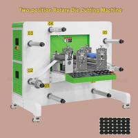 China Servo Motor Drive Round Knife Rotary Die Cutting Machine For Optical Materials on sale