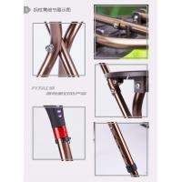 Quality wholesale ultralight foldable walking stick with seat,multinational aluminium alloy walking cane with seat for sale
