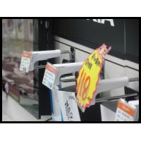 Wholesale COMER security Slatwall Display Hook with Price Tag from china suppliers