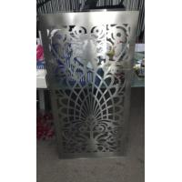 Wholesale 13mm Safety Tempered Laminated Glass With Laser Cut Stainless Steel Pattern from china suppliers