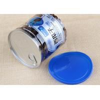 Wholesale Blue Plastic Cap Clear Plastic Cylinder Aluminium Easy Open Can Packaging 700ml from china suppliers