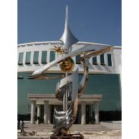 Wholesale Outdoor large sports abstract 304 stainless steel statues from china suppliers