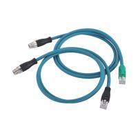 Wholesale IEC61076-2-109 Waterproof Power Cable Connector M12 male to RJ45 from china suppliers