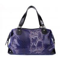 Quality women serpentine pattern leather handbags SSL for sale
