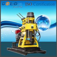 Wholesale High efficiency water drill rig with electric-start diesel engine from china suppliers