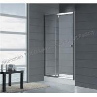 Wholesale Straight frameless glass shower 1600mm x 1850mm with Aluminium Frame from china suppliers