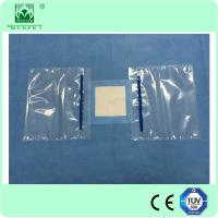 Wholesale 120x140cm Nonwoven surgical eyes drape with double fluid collection pouch from china suppliers