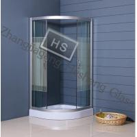 Wholesale 10MM clear tempered glass as shower room glass from china suppliers