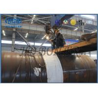 Buy cheap ASME Standard 100mm thickness produce superheatered and saturated steam Natural circulating type from wholesalers