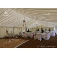 Wholesale Simple Deco Outside Aluminum Profile Luxury Wedding Tents Wave Roof Lining from china suppliers