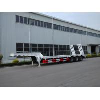 Wholesale Customized Low Loader Heavy Duty Trailers , Lowbed Semi Trailer With Landing Gear from china suppliers
