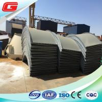 Wholesale 3.7 Ton Lightweight Carbon Steel Cement Silo With High Loading Capacity from china suppliers