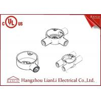 Wholesale Hot Dip Galvanized Electrical Junction Box One Way To Four Way , Size Customized from china suppliers