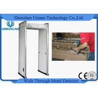 Quality Anti Interference Shockproof Walk Through Metal Detector Door For High Rise Building for sale