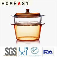 Wholesale Freezer Safe Pyrex Glass Steamer Dishwasher Chemical Resistance from china suppliers