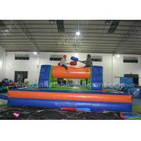 Wholesale Adults Inflatable Sports Games / 8 x 4M Inflatable Gladitor Jousting Game from china suppliers